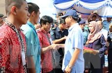 695 ngư dân bị phía Indonesia bắt giữ đã về nước an toàn