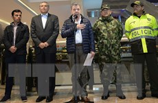 Tổng thống Colombia họp hội đồng an ninh quốc gia sau vụ đánh bom