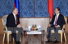 Hoạt động của Chủ tịch nước Trần Đại Quang tại Liên bang Nga