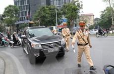 Sau vụ xe container hất văng cảnh sát, Bộ Công an ra công điện khẩn