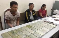 Sơn La: Phá chuyên án ma túy lớn, thu giữ 40 bánh heroin