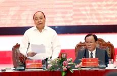Thủ tướng Nguyễn Xuân Phúc làm việc với Thường vụ Tỉnh ủy Sơn La