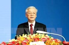 """Tổng Bí thư: Quan hệ Việt-Lào """"mãi mãi vững bền hơn núi, hơn sông"""""""