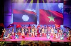 Kỷ niệm trọng thể 55 năm Ngày thiết lập quan hệ ngoại giao Việt-Lào