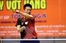 Tay vợt Hàn Quốc lên ngôi tại giải bóng bàn Cây vợt vàng mở rộng