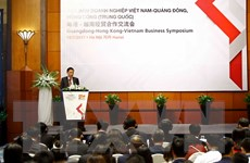 Thúc đẩy hợp tác kinh tế thương mại Việt Nam-Quảng Đông, Hong Kong
