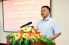 TTXVN quán triệt, triển khai Nghị quyết Trung ương 5 khóa XII