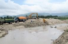 Gia Lai bắt quả tang vụ khai thác trái phép gần 1.000m3 cát