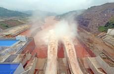 Lai Châu ra công điện ứng phó với mưa lớn, thủy điện Lai Châu xả lũ