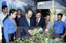 Khi Thủ tướng làm tiếp thị, kết nối thương hiệu Việt ra thế giới