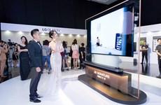 LG ra mắt dòng tivi cao cấp mỏng nhất thị trường Việt Nam