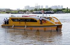 Vận hành kỹ thuật tuyến buýt sông đầu tiên tại Thành phố Hồ Chí Minh