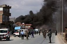 Tên lửa rơi ngay gần Đại sứ quán Mỹ và Phủ tổng thống Afghanistan