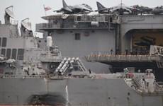 Thi thể được Malaysia tìm thấy không phải là thủy thủ tàu khu trục Mỹ