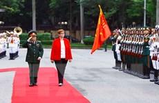 Hội đàm Bộ trưởng Quốc phòng hai nước Việt Nam và Australia