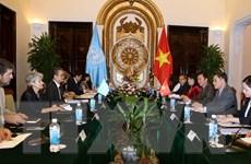 Quan hệ giữa Việt Nam và UNESCO đang ngày càng phát triển