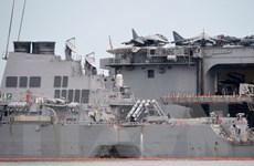 Mỹ tìm thấy thêm thi thể thủy thủ bên trong tàu USS John McCain