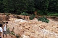 Nước các sông lên nhanh, nguy cơ lũ quét ở miền núi phía Bắc