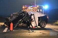 Bốn người chết trong vụ tai nạn giao thông nghiêm trọng ở Đức