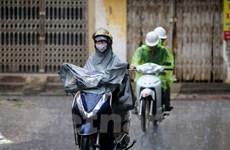 Lũ trên sông Hồng ở Hà Nội lên nhanh, Bắc Bộ sắp có mưa diện rộng