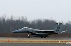 Mỹ điều 7 chiến đấu cơ F-15 hỗ trợ tuần tra không phận vùng Baltic