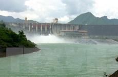 12 giờ ngày 31/8 đóng một cửa xả đáy tại thủy điện Tuyên Quang