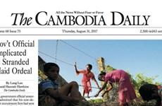 Campuchia: Tờ 'The Cambodia Daily' tuyên bố dừng xuất bản