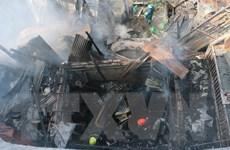 An Giang: Hỏa hoạn thiêu rụi 3 căn nhà ở thành phố Long Xuyên