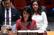 Đại sứ Nikki Haley: Mỹ không rút khỏi thỏa thuận hạt nhân Iran