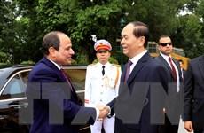 Tổng thống Ai Cập kết thúc chuyến thăm cấp Nhà nước tới Việt Nam
