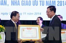 Thành lập Hội đồng cấp Nhà nước xét tặng danh hiệu nhà giáo