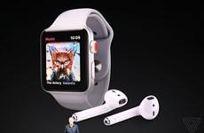 Apple ra mắt mẫu đồng hồ Apple Watch Series 3 kết nối mạng LTE