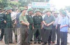 Phó Thủ tướng: Bảo đảm tuyệt đối tính mạng người dân trước bão số 10