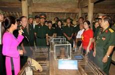 Khánh thành công trình nhà lưu niệm Bác Hồ tại khu di tích Kim Liên
