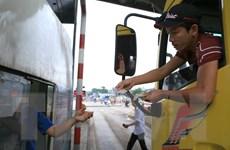 Rối loạn tại trạm thu phí đường tránh Biên Hòa vì tài xế dùng tiền lẻ