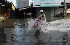 Thành phố Hồ Chí Minh: Nhiều nơi ngập sâu do triều cường lên cao