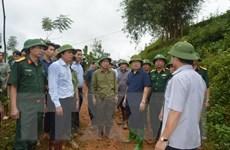 Phó Thủ tướng trực tiếp chỉ đạo tìm kiếm nạn nhân vụ lở đất ở Hòa Bình
