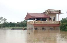Thanh Hóa: Nhiều huyện tiếp tục cho học sinh nghỉ học do mưa lũ