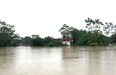 Lũ trên các sông ở Thanh Hóa đã đạt mức đỉnh và đang xuống
