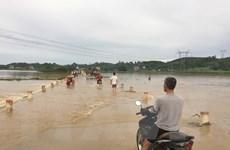 Lo đê sông Bưởi vỡ, Thanh Hóa sơ tán dân khẩn cấp trong đêm