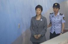 Tòa án Hàn Quốc gia hạn lệnh giam giữ cựu Tổng thống Park Geun-hye