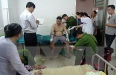 Bắt đối tượng ném chai xăng khiến một người bị bỏng nặng
