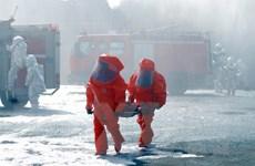 Toàn cảnh diễn tập quy mô lớn ứng phó rò rỉ hóa chất ở TP Hồ Chí Minh