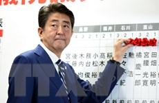 Thủ tướng Shinzo Abe công bố chính sách sau thắng cử vang dội