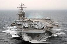 Mỹ điều tàu sân bay USS Theodore Roosevelt tới châu Á-Thái Bình Dương