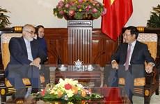 Sớm đưa kim ngạch song phương Việt Nam-Iran đạt mức 2 tỷ USD