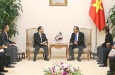 Phó Thủ tướng Trương Hòa Bình tiếp Thứ trưởng Bộ Công an Trung Quốc