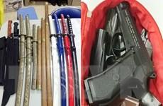 Triệt phá đường dây sản xuất súng đạn tự chế, mua bán vũ khí