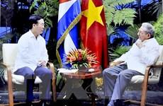 Trưởng ban Tuyên giáo TW Võ Văn Thưởng thăm, làm việc ở Cuba