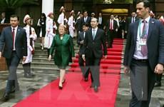 Tổng thống Chile rời Hà Nội đi dự Tuần lễ Cấp cao APEC tại Đà Nẵng